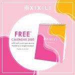 GWP XIXILI Free Calendar 2020