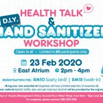 Health Talk & Hand Sanitizer Workshop